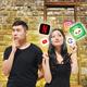 Las Vegas Raiders Eli Apple Tri Dye Black Vintage Tubular T-Shirt