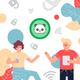 Men's New York Jets #14 Sam Darnold Split Two Tone Jersey - Black Green