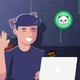 Minnesota Vikings Kyle Rudolph Purple Sideline Legend Staff Performance T-Shirt