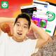 Men's Kansas City Royals #11 Light Blue Cartoon Edition Bubba Starling Name & Number T-Shirt