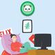 Chicago Blackhawks Custom Men's Red 2019 NHL Global Series Breakaway Player Jersey