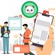 Men's Buffalo Bills #91 Ed Oliver Men's Navy Inverted Legend Jersey