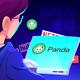Men's Denver Broncos #80 Julius Thomas Orange Helmet Masked Full Zip Hoodie