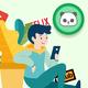 Jimmy Graham State Long Sleeve T-Shirt Chicago Bears Blue Men's