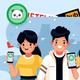 Men's Orlando Magic Heather Gray Noches Enebea Latin Nights Wordmark T-Shirt