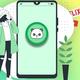 Men Philadelphia 76ers #25 Ben Simmons Royal Oversized Number T-Shirt
