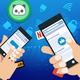 Men's Cincinnati Reds Big & Tall Banner State Navy T-Shirt