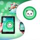 NBA Atlanta Hawks Wood Fence Shower Curtain
