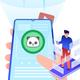 NFL Lawrence Taylor New York Giants Pixel Art 2 Throw Pillow