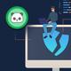 NHL Nashville Predators Logo Vintage Shower Curtain