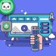 NHL Carolina Hurricanes Banner Throw Pillow