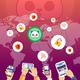 NHL Colorado Avalanche Mountains Throw Pillow